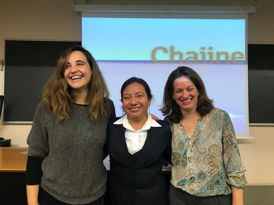 Al centre, l'Amanda, l'enfermera guatemalteca que ha estat l'ànima d'aquest projecte de cooperació