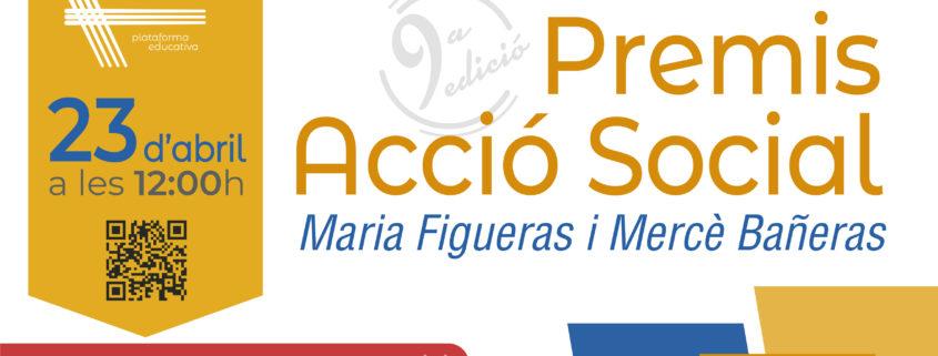 invitació premis acció social 2021